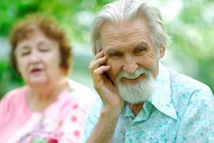 Elderly Man - hard of hearing