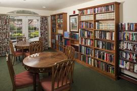 Carlton Senior Living Fremont, CA - Library