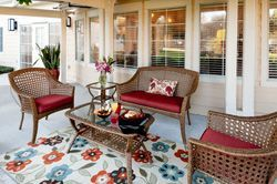 Atria Westchase - Houston, TX - Patio