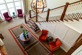 Carriage House at Lee's Farm - Wayland, MA - Stairwell