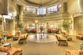 Covenant Village of Florida - Plantation, FL - Atrium Lobby
