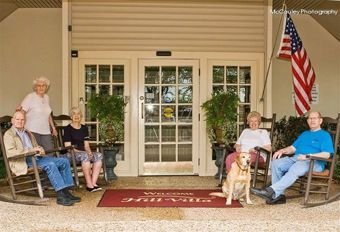 Hill Villa Senior Living - Fort Worth, Texas - Entrance