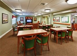 Sea View Senior Living Community - Brookings, OR - Activity Room