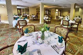 The Atrium at Boca Raton, FL - Dining Room