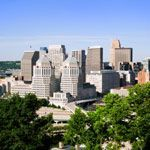A view of downtown Cincinnati, Ohio