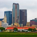Skyscrapers and buildings in Dallas, Texas