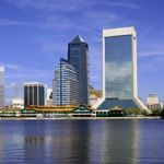 Jacksonville, Florida from across the St. John river