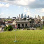 The skyline of Kansas City, Missouri