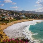Laguna Beach in Orange County, California