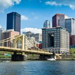 Downtown buildings in Pittsburgh, Pennsylvania