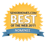 SeniorHomes Nominee badge medium