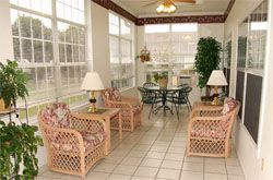 Brookdale Edmond Santa Fe, OK - Sunroom