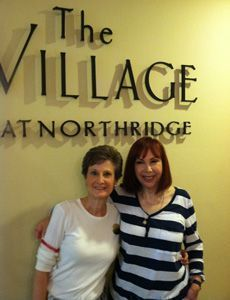 Joan and Robin at The Village