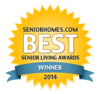 Best Senior Living Awards Winner Badge
