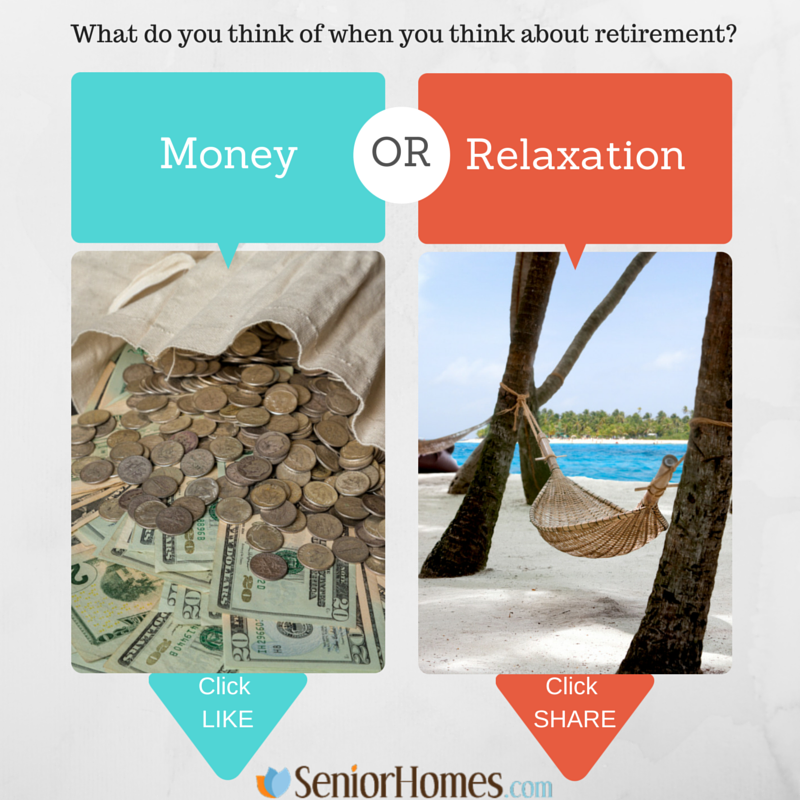 What do you think of when you think about retirement?